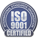 ISO 9001 Certified Stamp for Anchor Harvey's Quality Management System