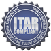 ITAR Compliance Stamp for Anchor Harvey's Defense and Aerospace Forgings