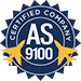 AS9100 Certified Stamp