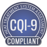 CQI-9 Certification Badge