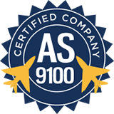 AS9100 Certification Badge
